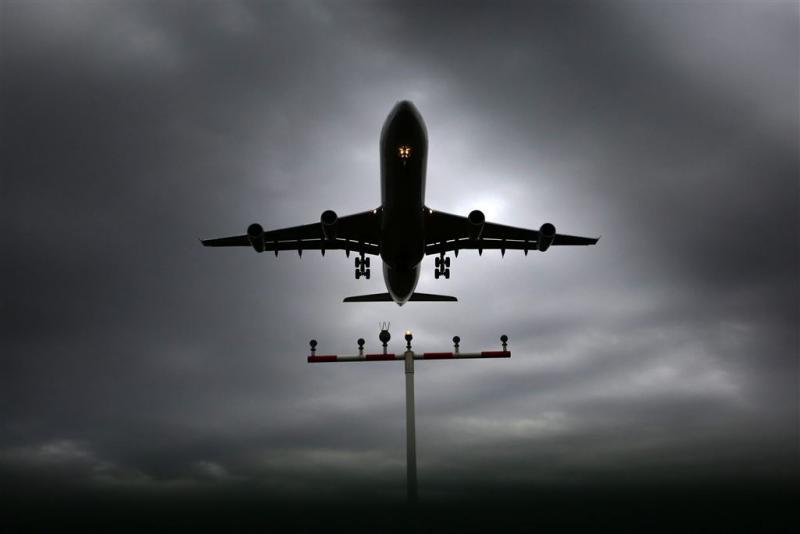 KLM-piloot verblind met laser bij landing