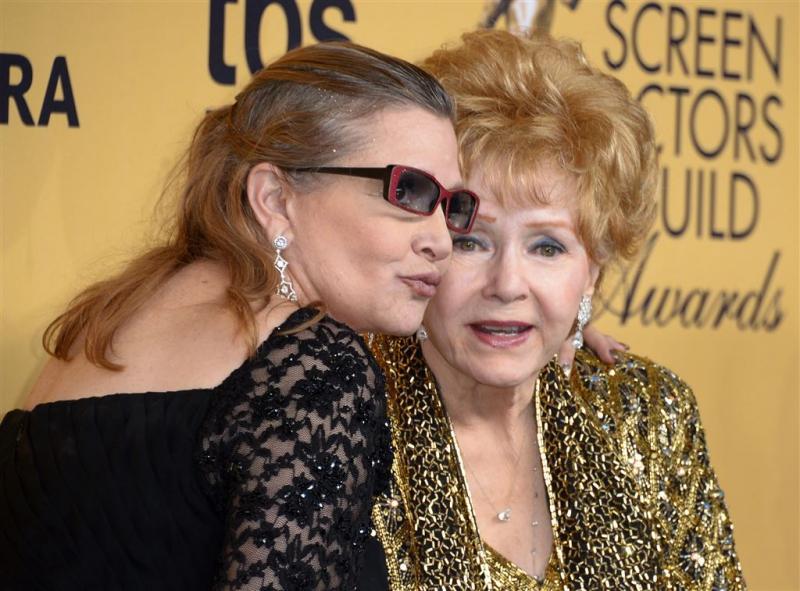 'Debbie Reynolds overleden'