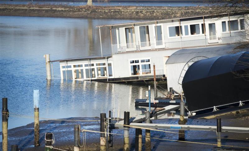 'Waterpeil Maas bij Grave nu stabiel'