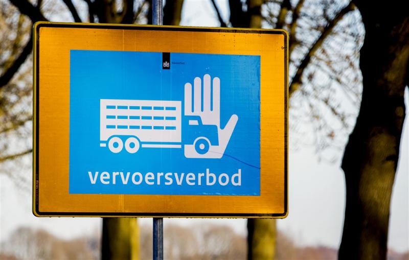 Vervoersverbod bedrijf Biddinghuizen gestopt