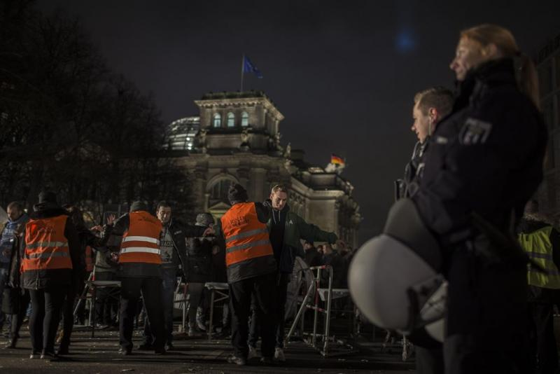 Man roept 'bom, bom, bom' in Berlijn