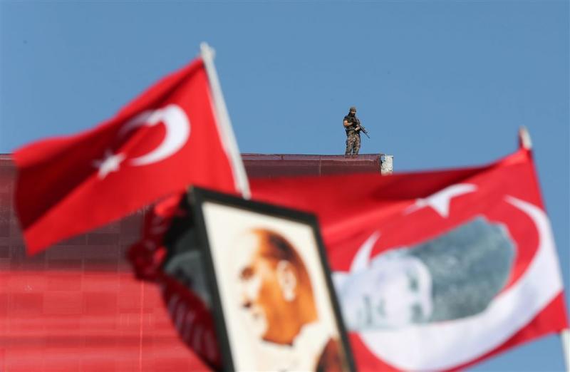 'Turkije in nieuwe onafhankelijkheidsoorlog'