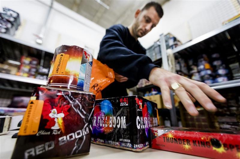 Voor 68 miljoen euro vuurwerk verkocht
