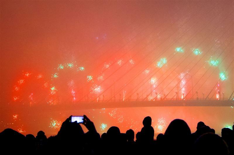 Vuurwerk veroorzaakt aanzienlijke smog
