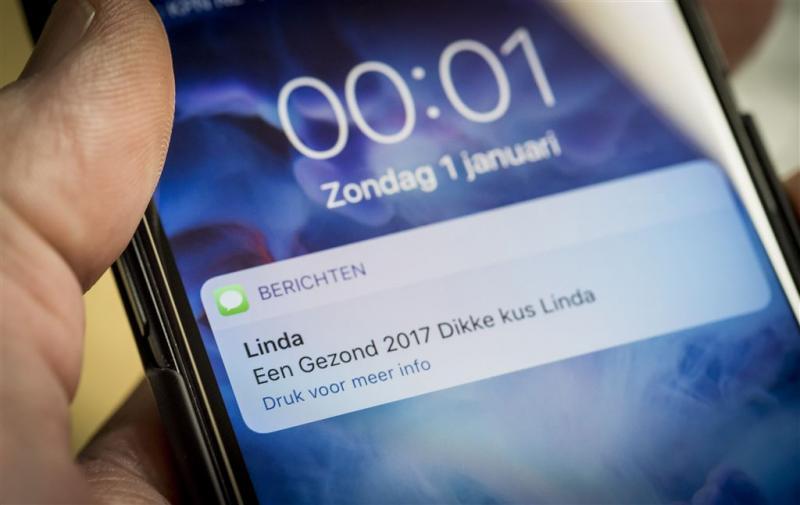 Mobiele datagebruik piekt rond jaarwisseling