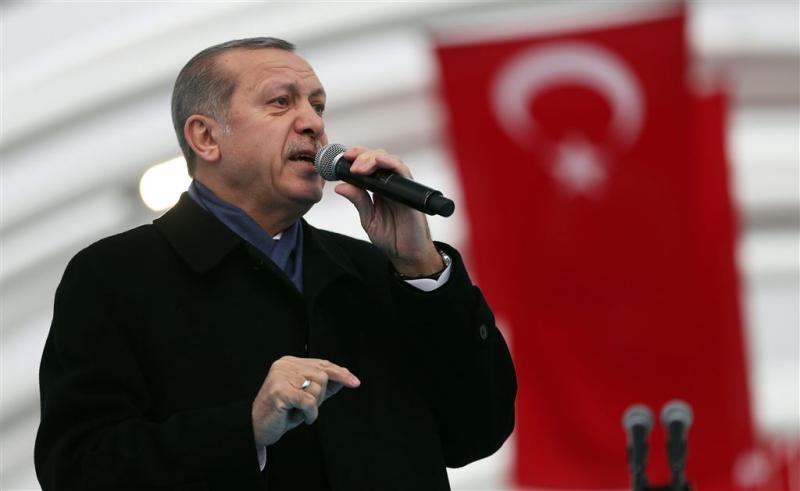 Erdogan blijft vechten tegen terrorisme