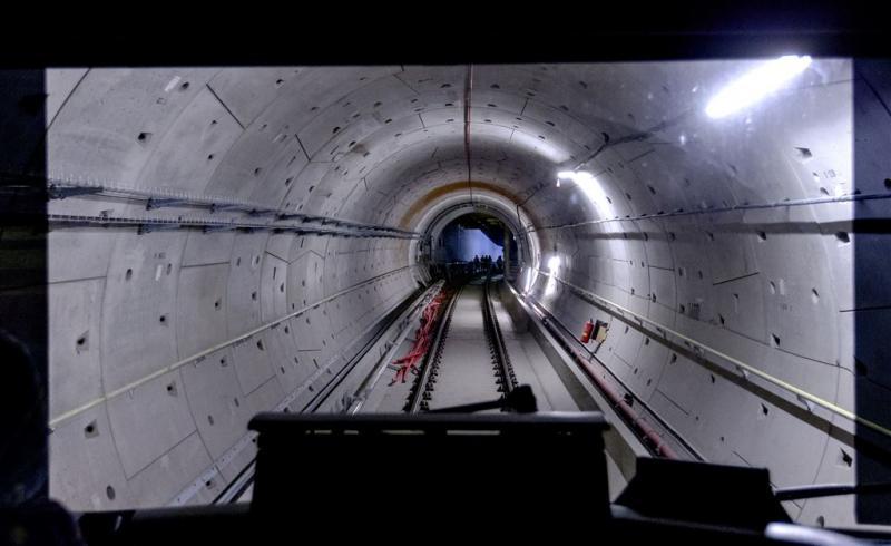 Eerste metro test zelfstandig Noord-Zuidlijn