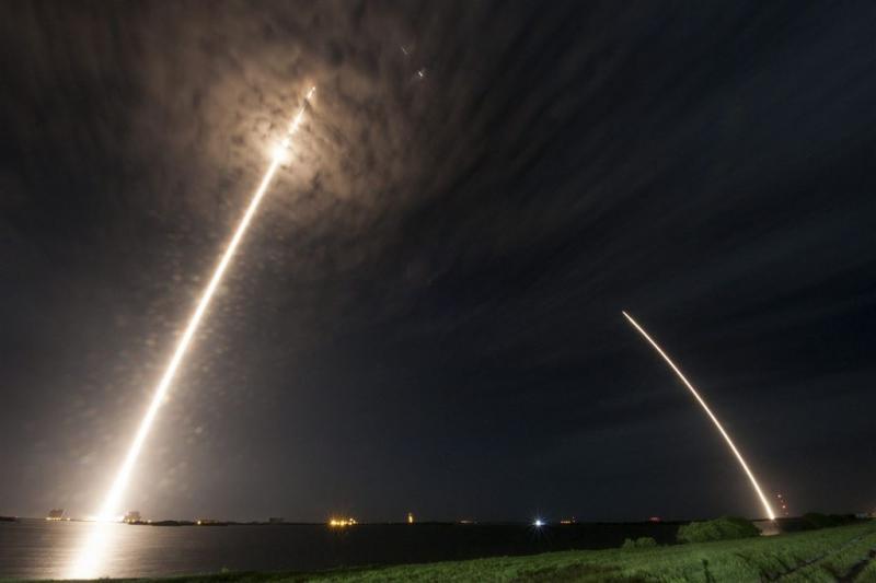 SpaceX wil zondag weer de ruimte in