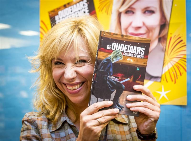 Claudia de Breij lanceert oudejaarsboek