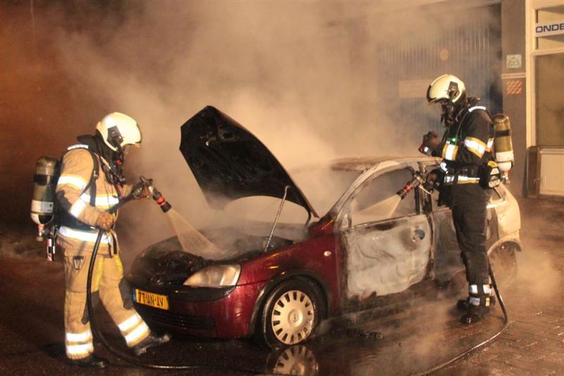 Politie Utrecht pakt verdachten autobranden op