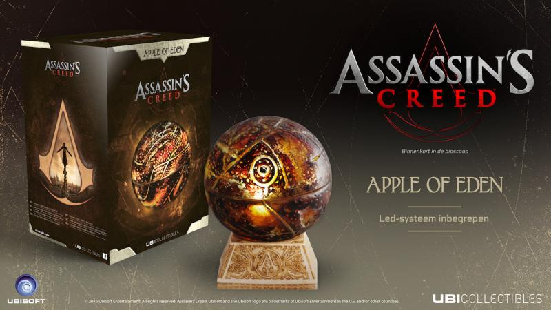 Apple of Eden Assassin's Creed-prijsvraag (Foto: Ubisoft)