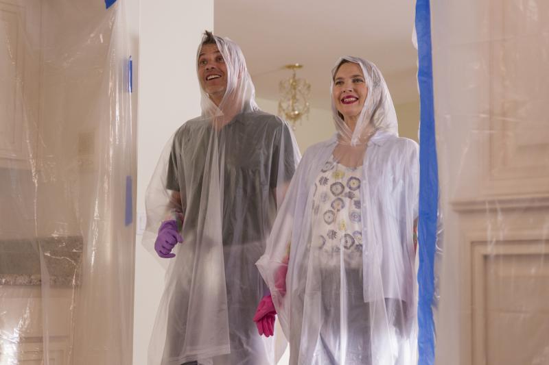 Santa Clarita Diet: Timothy Olyphant en Drew Barrymore (Foto: Saeed Adyani / Netflix)