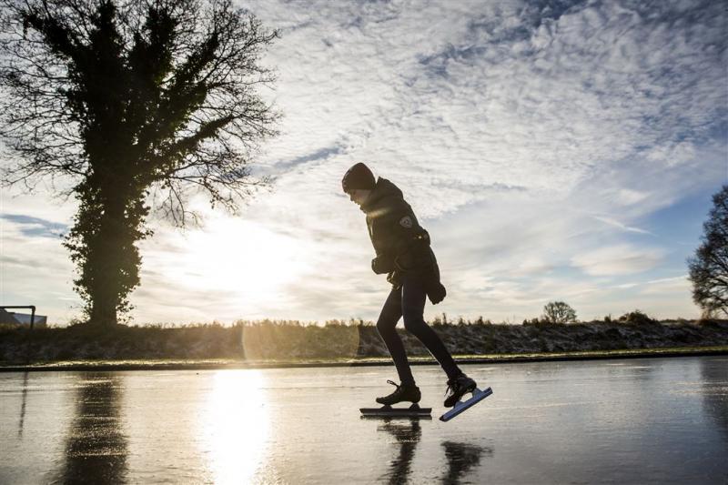 Schaatsbanen open, maar geen marathon