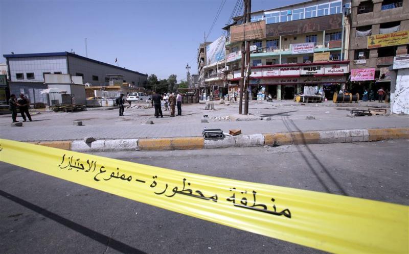 Bomaanslag op markt in Bagdad