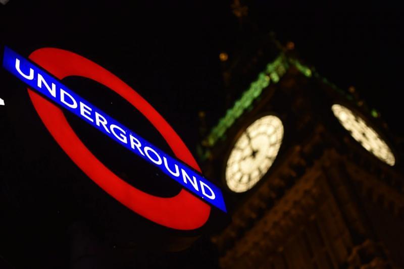 Metro Londen zondagavond plat door staking