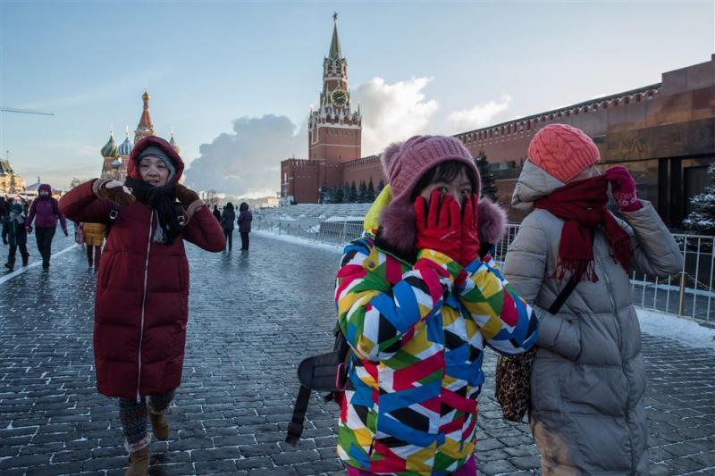 Zelfs Russen kijken op van koude