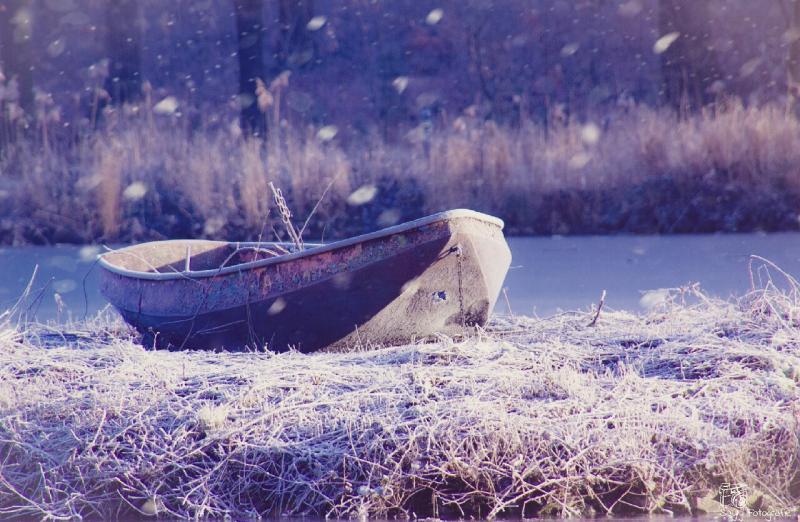 Winterfoto in het Schutterspark te Brunssum (Foto: Luun)