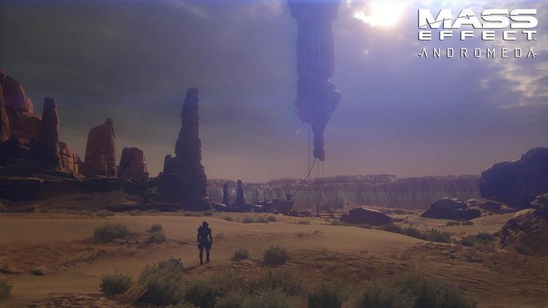 Mass Effect: Andromeda - Woestijn