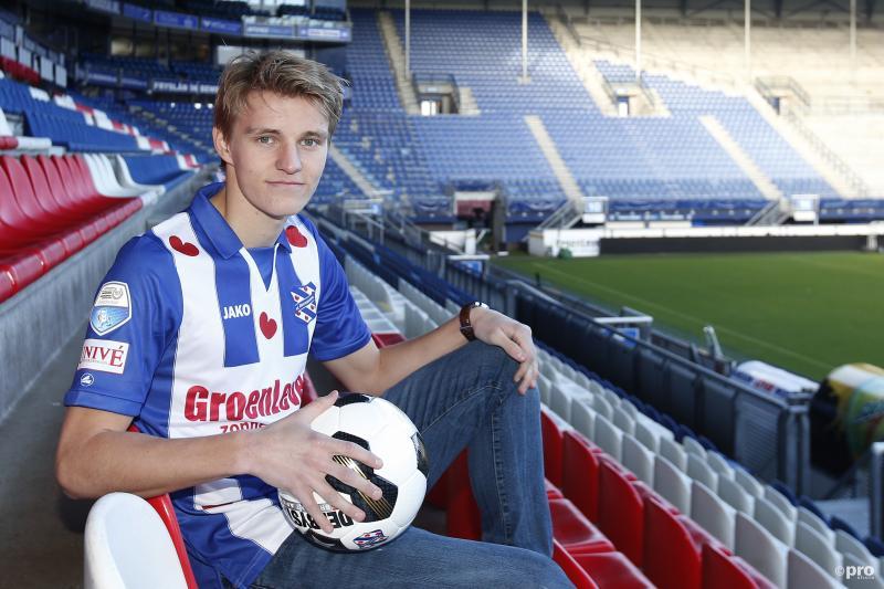 """Ødegaard naar Heerenveen: """"Dit is een hele mooie club"""" (Pro Shots / Henk Jan Dijks)"""