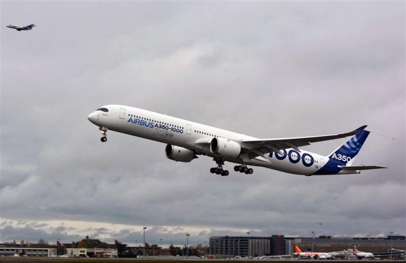 Airbus levert weer recordaantal vliegtuigen