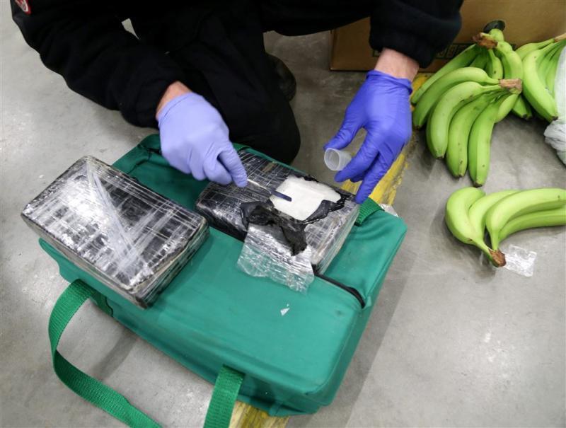 Bijna 4000 kilo cocaïne tussen de bananen