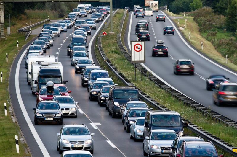 Duitse wegen druk door laag water