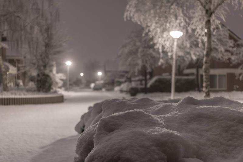Sneeuw in Twente2 (Foto: Dennistd)