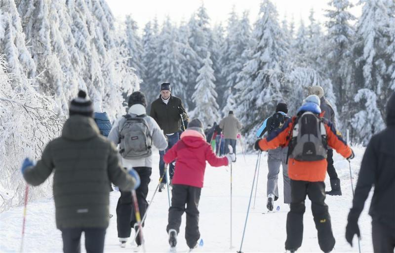 Wintersport in België