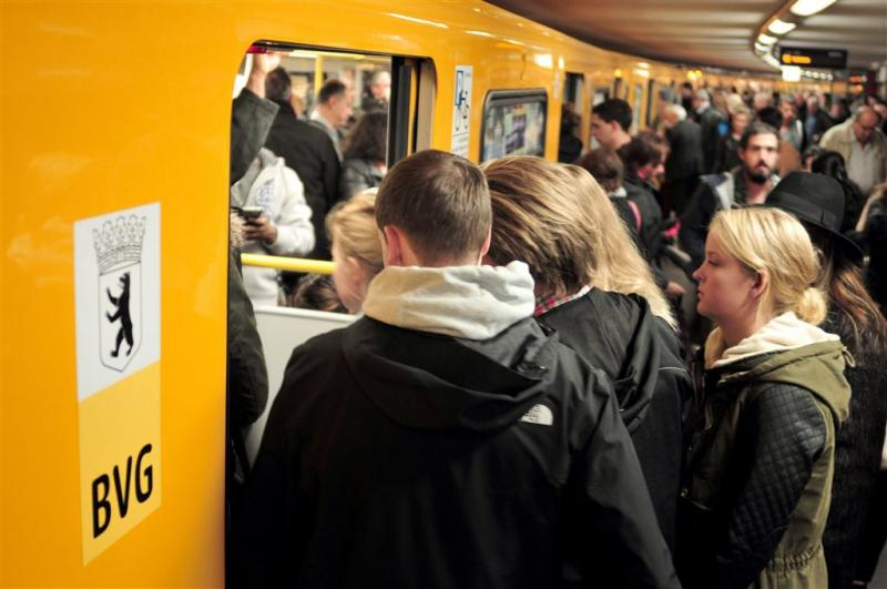 Weer brute aanval in metro Berlijn