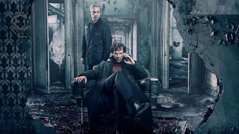 Sherlock: Martin Freeman en Benedict Cumberbatch
