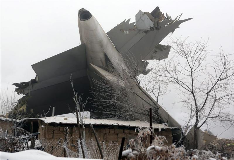 Oorzaak crash Kirgizië nog onbekend