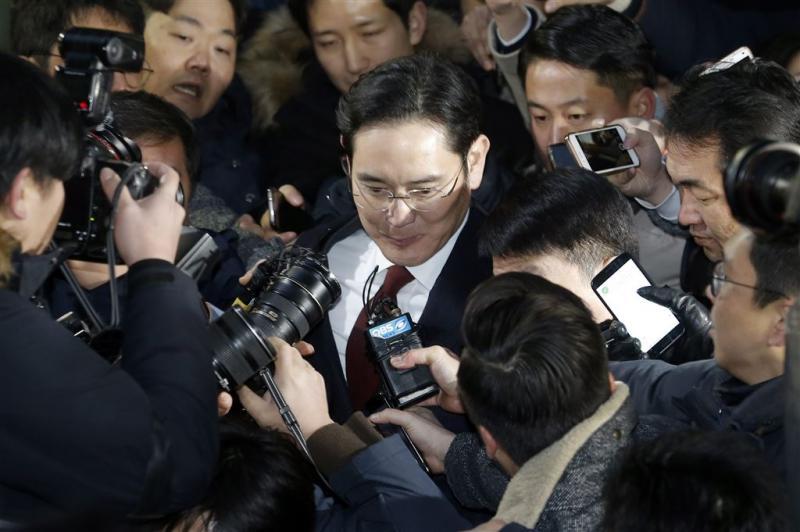 Verzoek om arrestatiebevel topman Samsung