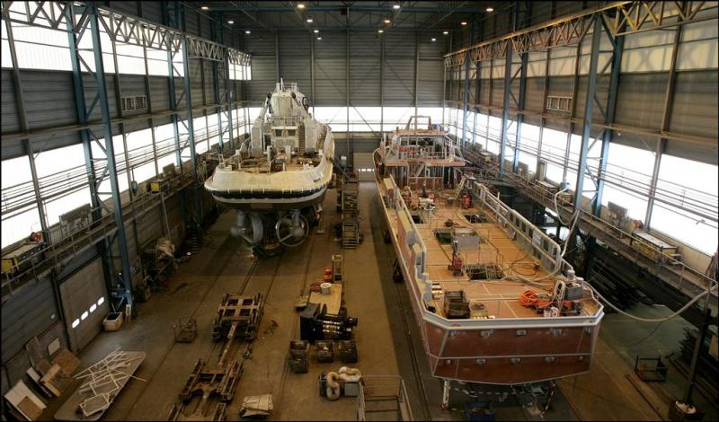 Inval FIOD bij Damen Shipyards