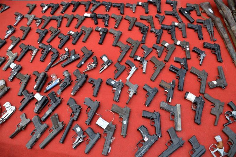 12.000 illegale wapens gevonden in Spanje