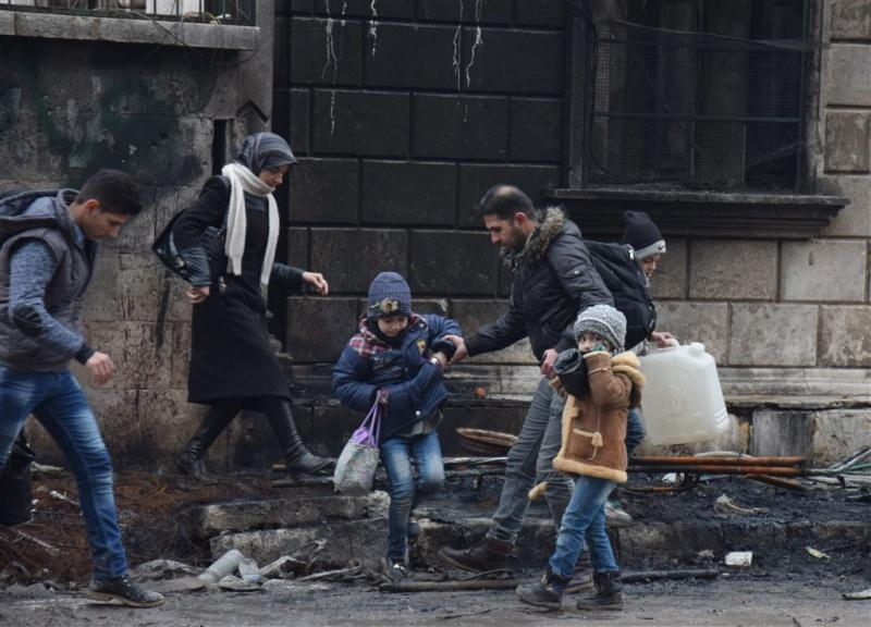 Hulporganisaties willen toegang tot Syriërs