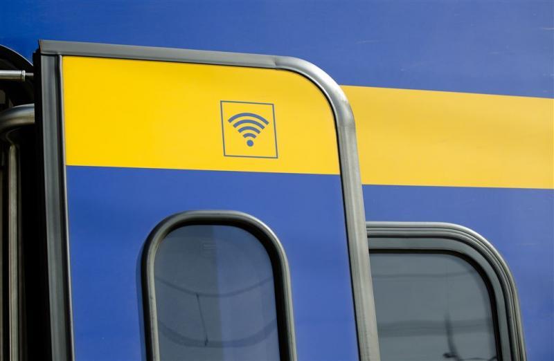 Wifigebruik in de trein verdubbeld