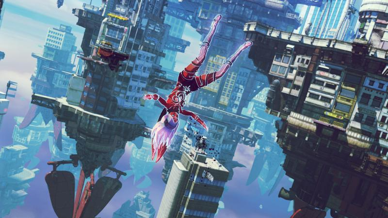 Gravity Rush 2 - Floating (Foto: Sony)