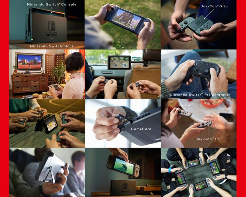 Nintendo Switch - Mogelijkheden