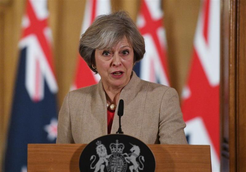 Premier May wil geen gedeeltelijke brexit