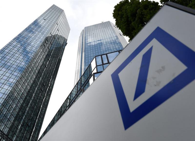 VS akkoord met miljardenboete Deutsche Bank