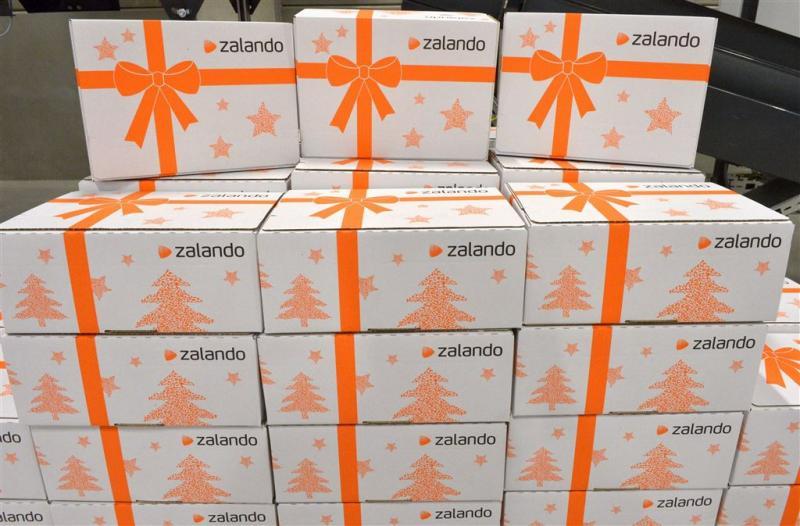 Kwartaalomzet Zalando boven 1 miljard euro