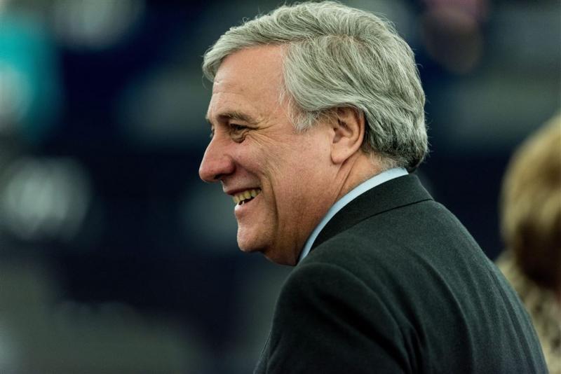 Antonio Tajani nieuwe voorzitter EU-parlement