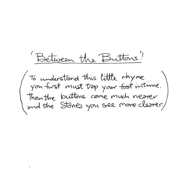 Between The Buttons 3