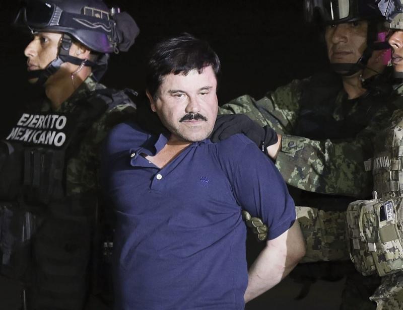Drugsbaron 'El Chapo' uitgeleverd aan VS