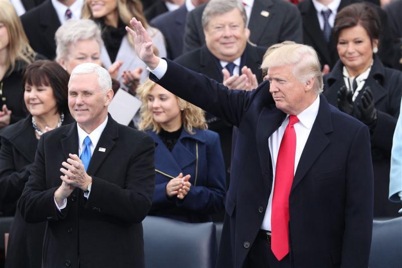 Donald Trump beëdigd als 45e president VS