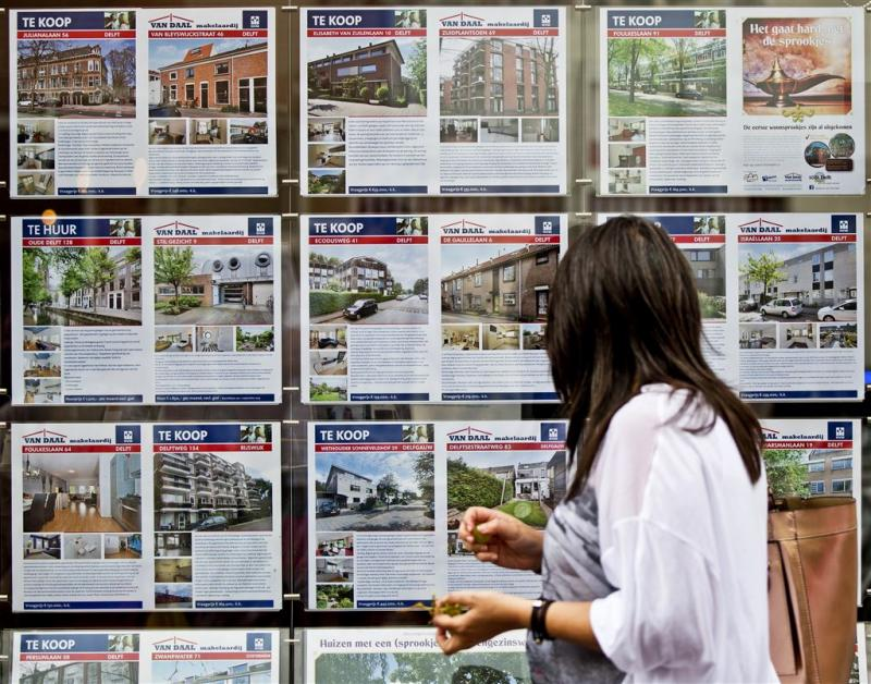 Sterkste stijging huizenprijzen sinds 2002