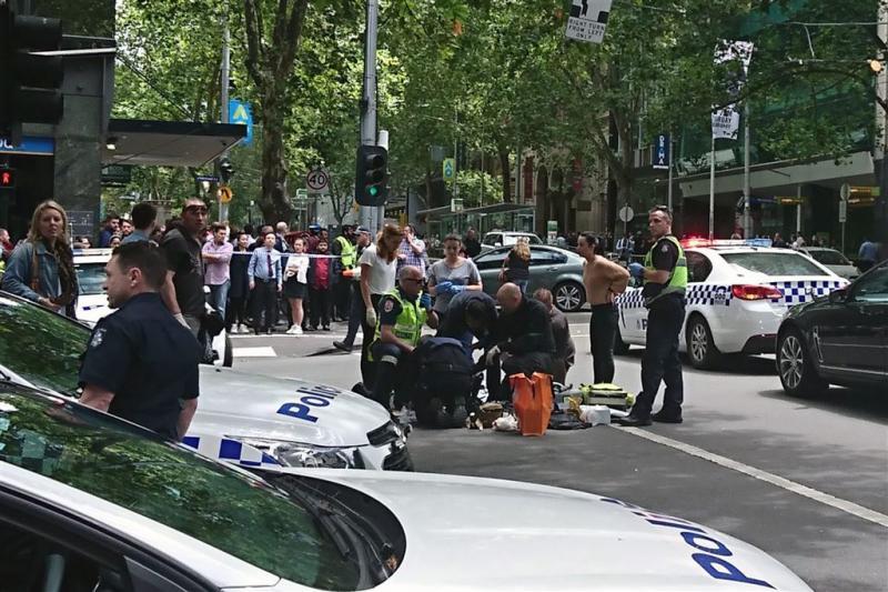 Man rijdt voetgangers dood in Melbourne