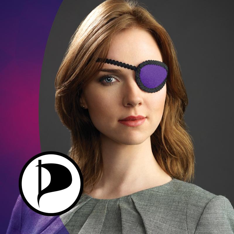 Ancilla (Piratenpartij) BOOS op feministisch blad Opzij (foto: partijwebsite)