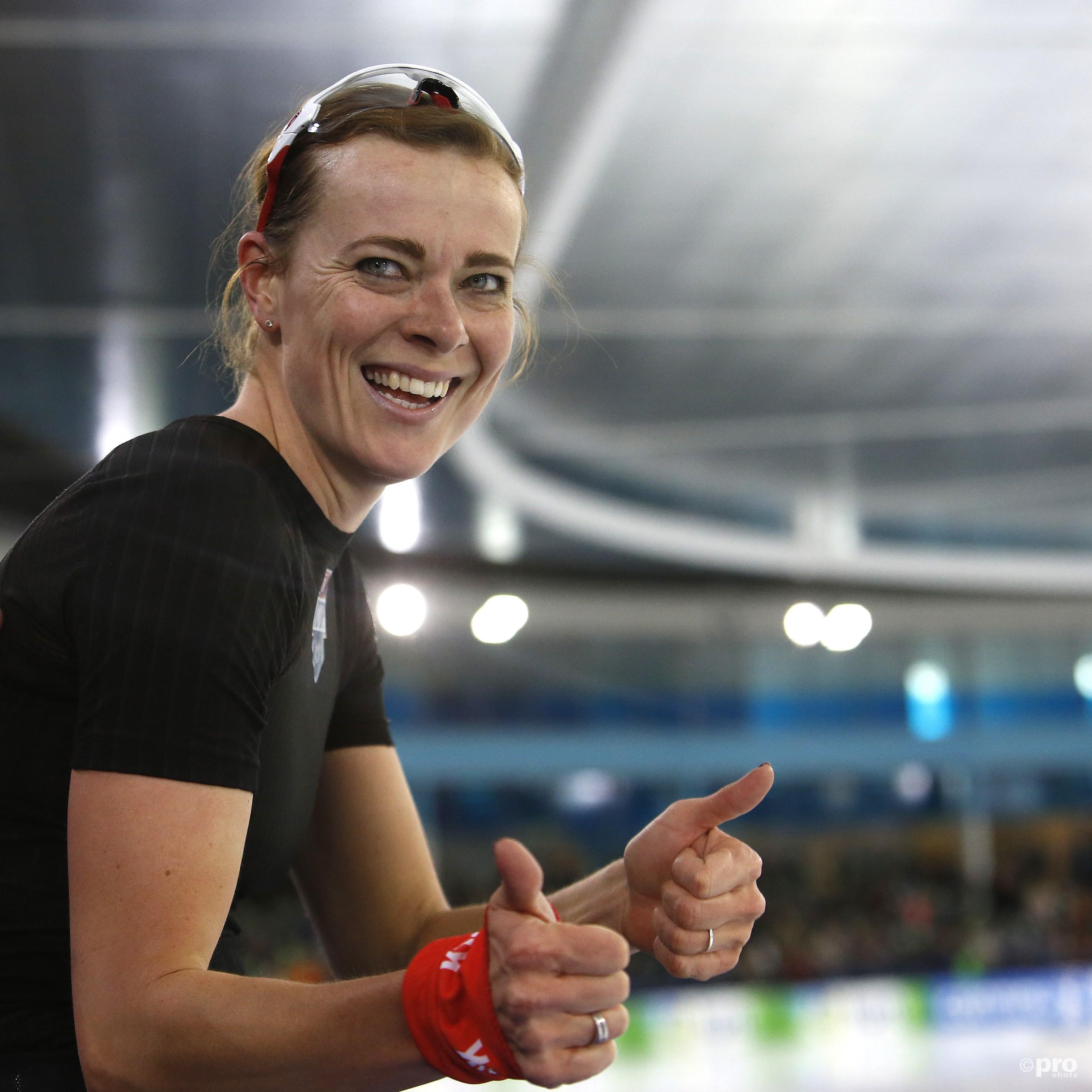 Marije Joling voor het eerst Nederlands kampioen. (PRO SHOTS/Henk Jan Dijks)