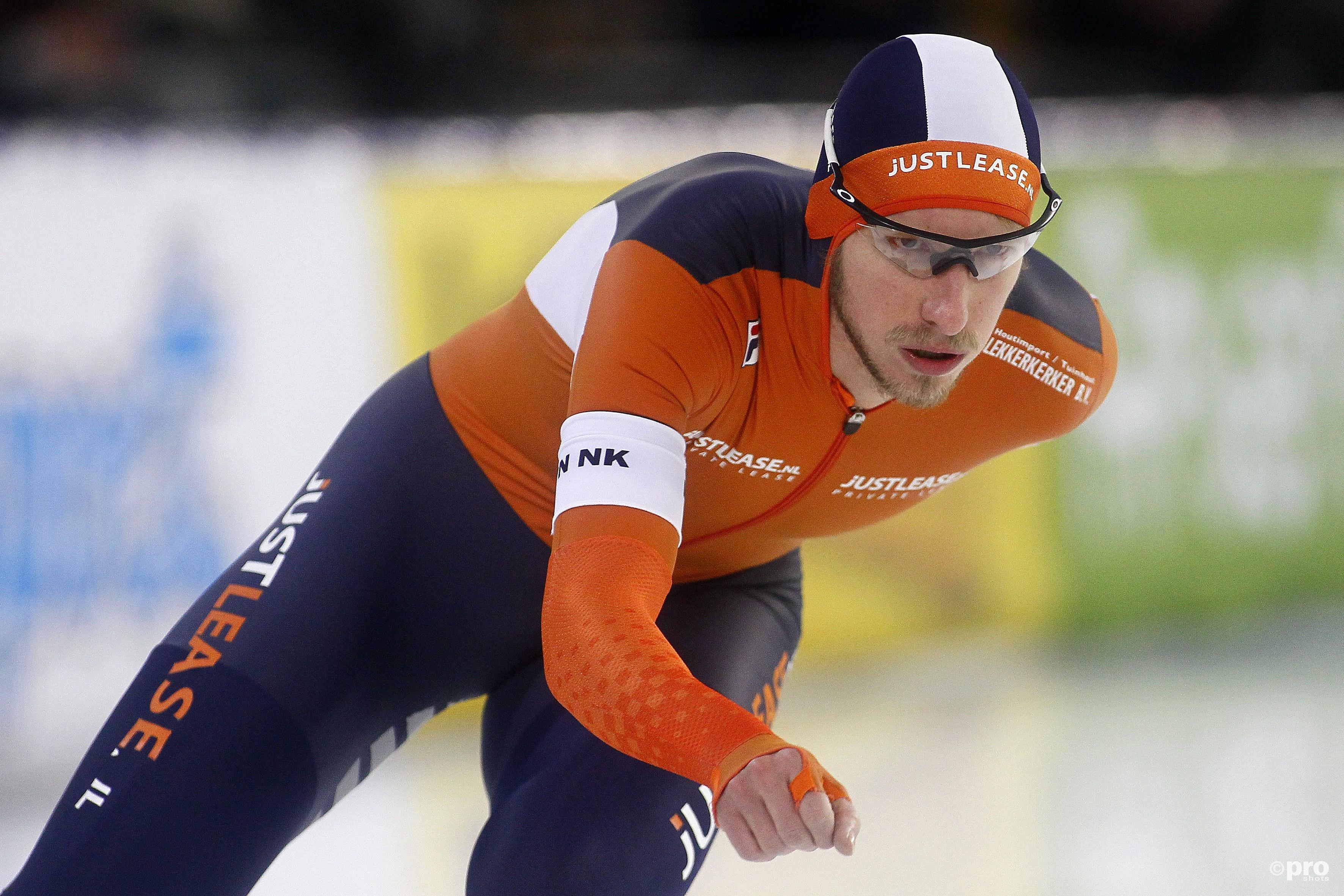 Jan Blokhuijsen opnieuw Nederlands kampioen allround. (PRO SHOTS/Henk Jan Dijks)